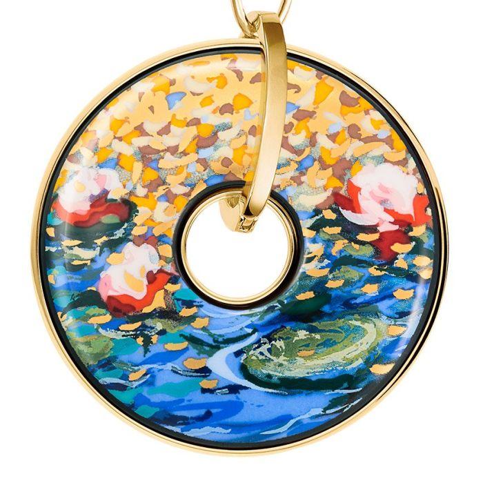 Hommage à Claude Monet - Anhänger Luna Piena