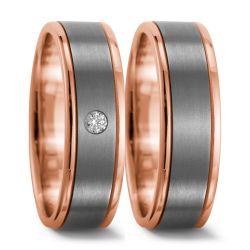 750/18 K Rotgold, Titan Ring