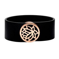 Armband mit Magnetverschluss und italienischem Leder