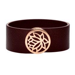 Armband mit italienischem Leder und Magnetverschluss jetzt online bestellen auf www.zenubia.ch