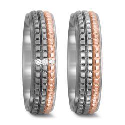 Titan, 750/18 K Rotgold Ring