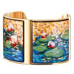 Hommage à Claude Monet - Bracelet Manchette Aphrodite