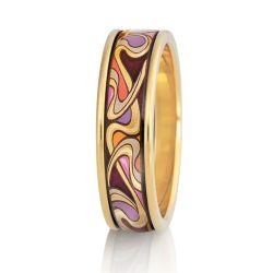 Hommage à Alphonse Mucha - Ring Ultra